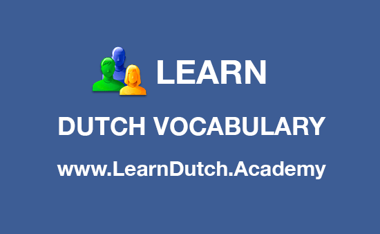 Learn Dutch Vocabulary