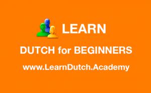 Learn Dutch for Beginners